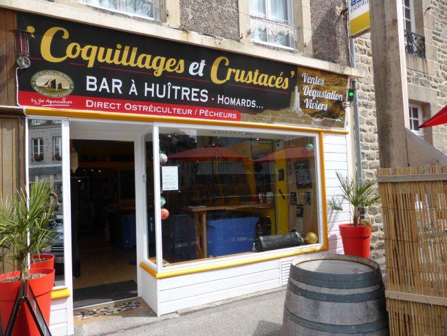 """Ouverture de la boutique """"Coquillages et crustacés"""""""